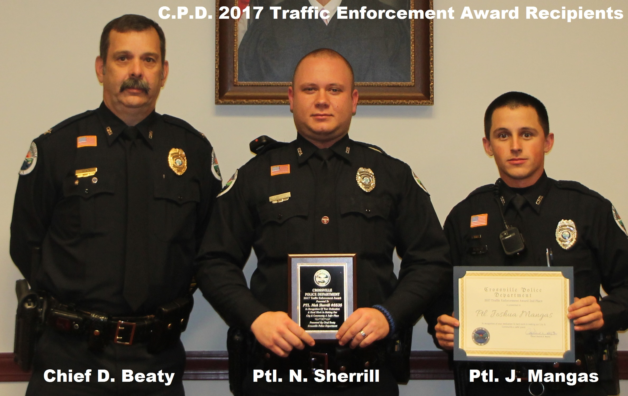 2017 Awards DUI-Traffic