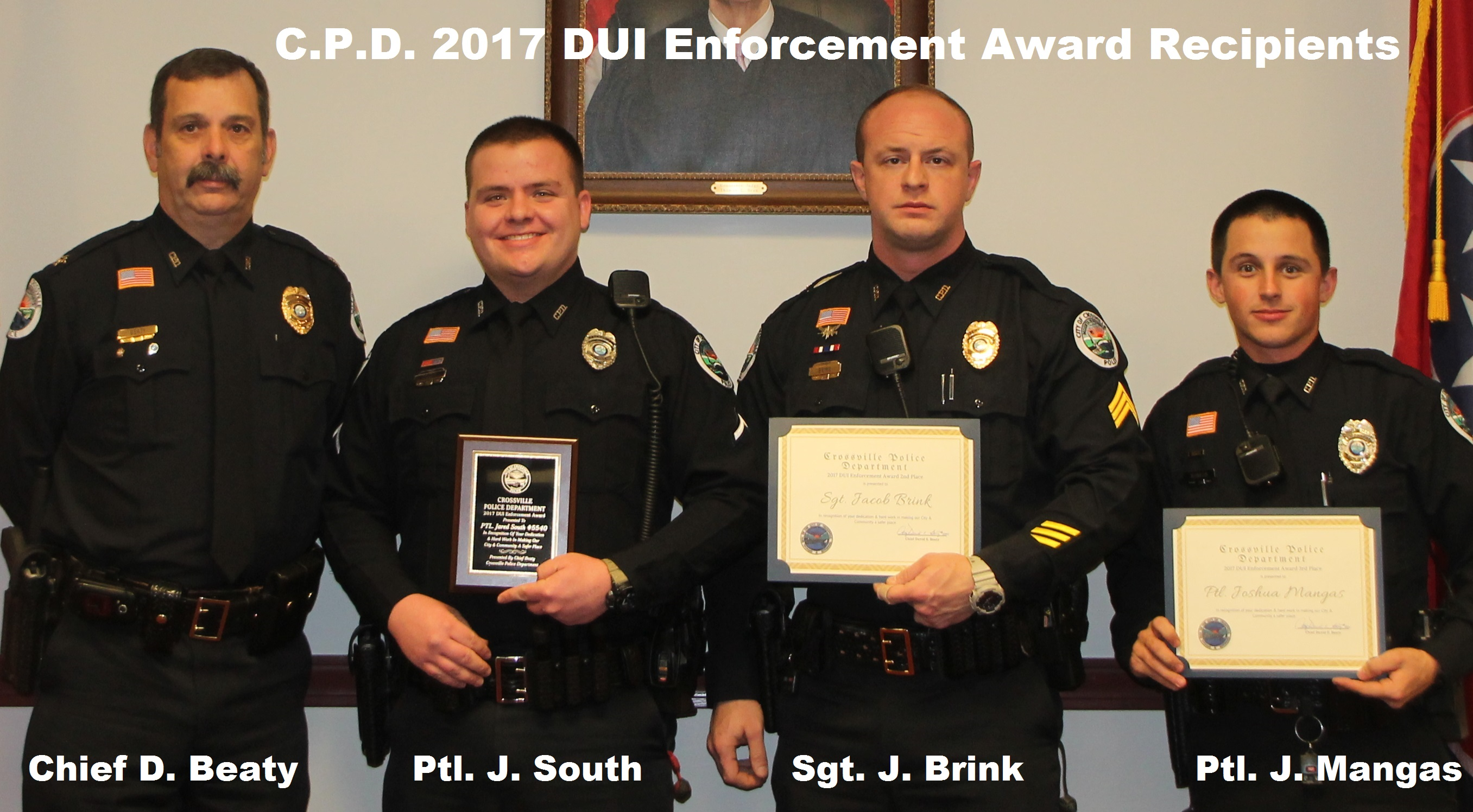 2017 Awards DUI-Traffic 2